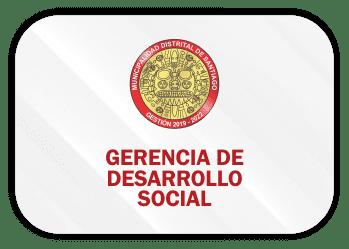 gerencia de desarrolo social santiago