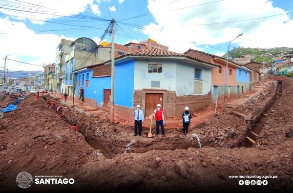 PAVIMENTACIÓN INTEGRAL DE CALLES EN CONSTRUCCIÓN CIVIL Y LA APV AMAUTA REGISTRAN UN GRAN AVANCE DE EJECUCIÓN